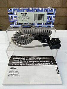 NIKON SC-17 TTL Remote Cord for Nikon SpeedlightFlash Unused
