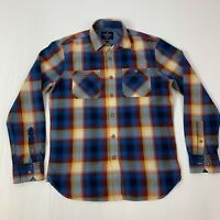 American Eagle Mens Size Small Multicolor plaid Long Sleeve Button Front Shirt