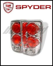 Spyder Chevy Blazer 95-05/Oldsmobile Bravada 96-01 Euro Tail Lights Chrm