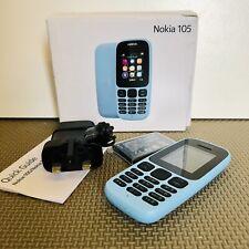 Nokia 105 Mobile Phone Cyan Blue Cheap basic