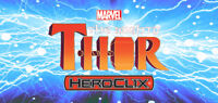 HEROCLIX THE MIGHTY THOR Thor 001 Hercules 003 LOT X 2