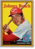 Johnny Bench 2019 Topps Archives 5x7 Gold #94 /10 Reds