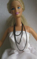 Long black Necklace for Barbie,Poppy Parker,Fashion Royalty similar