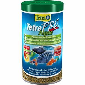 Tetra Pro Algae Fish Food Premium Foor for All Tropical Fish Health 250ml