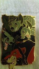Disney's Pin Scar and 3 Hyenas Lion King Villain Sidekicks Special LE 750