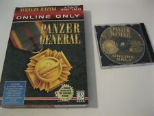 Panzer General PC Online Only Box and CD-ROM complete SSI