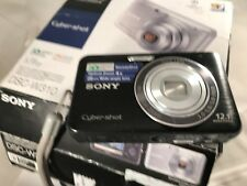 Sony Cyber-shot DSC-W310 12.1MP Digital Camera - Black