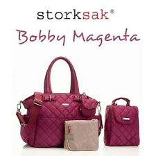 Storksak Nappy Changing Bags with Insulated Bottle Pocket