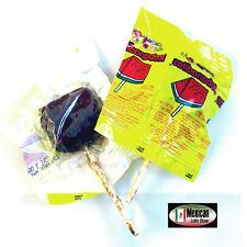 10pc Vero Rebanaditas Revanada Watermelon Lollipop Mexican Candy DULCE con chile