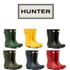 Hunter Originale Corto Donna Vari Colori Stivali da Pioggia Misura UK 3 - 8