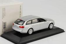 Audi A6 Avant Silver c6 2004-2011 Minichamps dealer 1/43