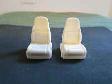 1/25 SCALE RESIN CAST AMT FORD LIGHTNING BUCKET SEATS, BUY 2 PR., GET 1 FREE!!!!