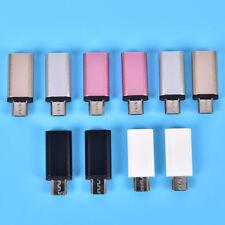 3.1USB C-type hembra a mini USBmacho Adaptador de datos conector de converti*ws