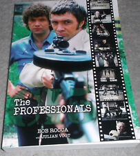 THE PROFESSIONALS Book Martin Shaw Lewis Collins (Rocca & Vogt) !!!PRE-ORDER !!!