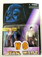 Star Wars Dash Rendar and Han Solo Shadows of the Empire bootleg VS figures