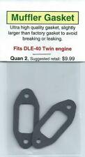 DLE-40 Twin Exhaust/Muffler Gasket 2 Pack NIP