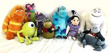 Disney Store Monsters Inc Stuffed Plush Lot of 9 Roz Randall Celia Boo RARE