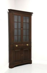 BENBOW'S Solid Mahogany Chippendale Large Scale Corner Cupboard / Cabinet