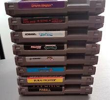 Nintendo NES Games Lot: 8 Games
