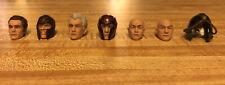 Marvel Legends X-Men Movie Magneto Ian McKellen Patrick Stewart Heads Loose