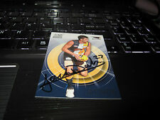 WEST COAST EAGLES - JACK DARLING HAND SIGNED AFL 2011 SELECT CARD