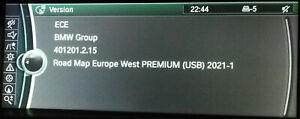 BMW 2021-1 PREMIUM CIC Sat Nav update F10 F11 F07 X5 X6 E90-E93 E70 3+5 series