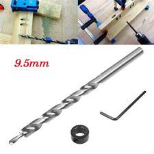 3/8inch(9.5mm) Twist Step Drill Bit Set for Kreg Pocket Hole Drill Jig Guide