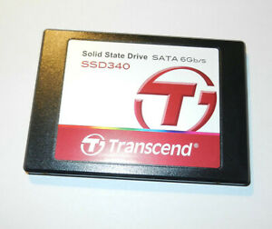 TRANSCEND SSD 128GB SATA 6Gb/s. TS128GSSD340. TESTED 100% EXCELLENT.