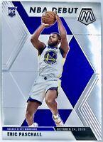 2019-20 Panini Prizm Mosaic Eric Paschall Rookie Card RC NBA Debut Warriors 📈🔥