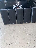 JBL Surround Sound Speakers 160SICEN 160SISAT Small Satelite Home Theatre Dolby