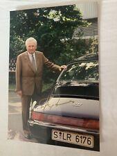 """Ferdinand """"Ferry"""" Porsche - Seltenes drucksigniertes """"offizielles"""" Foto"""