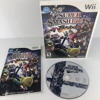 Super Smash Bros. Brawl (Nintendo Wii, 2008) Complete w/ Manual - CIB