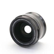 FUJIFILM Fuji Wide Conversion Lens WCL-X100 II Black -Near Mint- #144