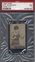 1928 W565 Izzy Schwartz Boxing PSA 7 pop 2 (Only 1 Higher) *687336