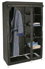 Penderie Cabinet Matériau Armoire Pliable Camping Tissu Avec 5 Ablageorten