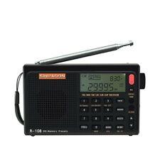 SIHUADON® R-108 Radio Digital Portable Radio FM Stereo/LW/SW/MW/AIR/DSP
