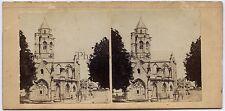 Caen Normandie France Photo Furne et Turnier Stéréo Vintage albumine 1858