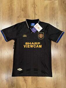 Brand New Manchester United Cantona Away Shirt 91/92 Medium
