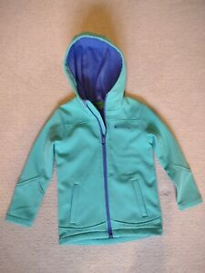 Kids age 5-6 Mountain Warehouse Softshell Jade Green
