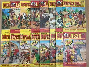 Lasso + Bufallo Bill  Hefte  Bastei Verlag