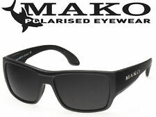 Mako COVERT MATT BLACK Glass Sunglasses Polarised GOHR + Free Delivery +Warranty