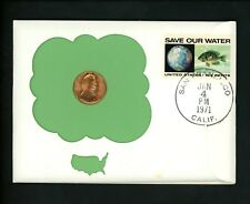 US Postal History Numismatic Coins PNC FDC of Release S 1971 San Francisco CA