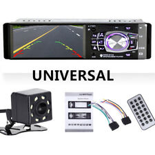 4.1 inch Car Stereo Radio MP3/5 Player Bluetooth 1 DIN SD USB FM Audio HD Camera