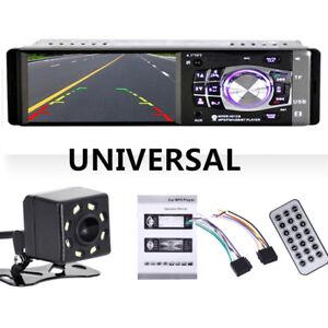 4.1 inch Car Stereo Radio MP3/5 Player Bluetooth 1 DIN SD USB FM Audio HD Camera