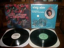 Hammond Organ And Chimes At Christmas-Cristy Lane-Man From Galilee-Record LP Lot