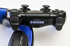 PS4 Controller Name LED Lightbar Individuelle Wunschtext Sticker Aufkleber