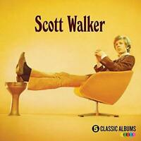 SCOTT WALKER 5 Classic Albums (2016) reissue remastered 5-CD NEW/SEALED
