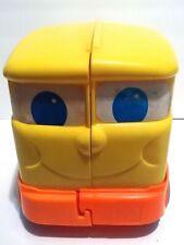 Vintage 1978 Mattel Toy Preschool Rockie Rollies School Bus & Accessories Set
