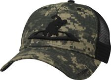 Title Boxing Mixed Martial Arts Demand MMA Meshback Camo & Black Trucker Cap Hat