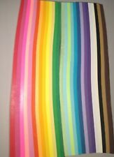 Origami Paper 27 Vivid Colors Kit Multiple Colors and Strips. New